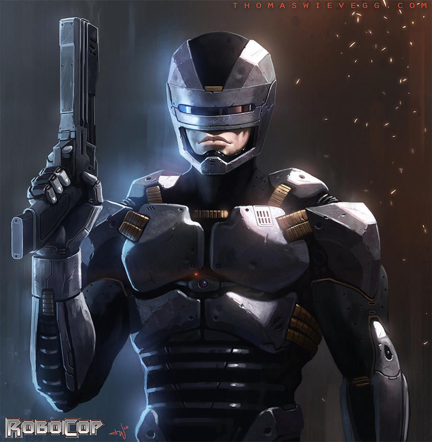 Robocop by thomaswievegg on DeviantArt