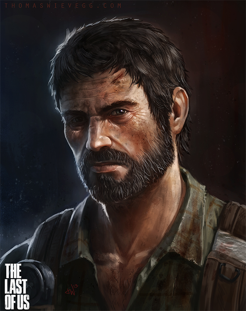 the Last of Us - Joel by thomaswievegg
