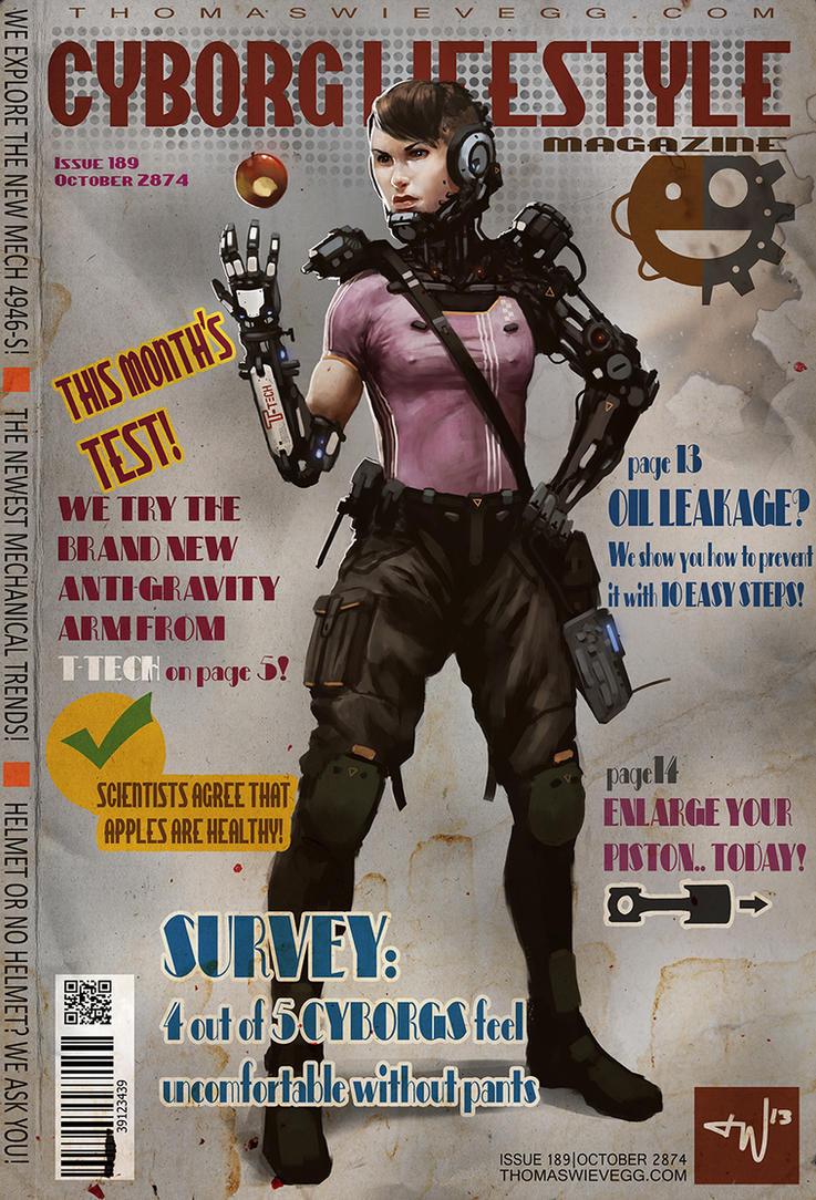 Cyborg Lifestyle by thomaswievegg