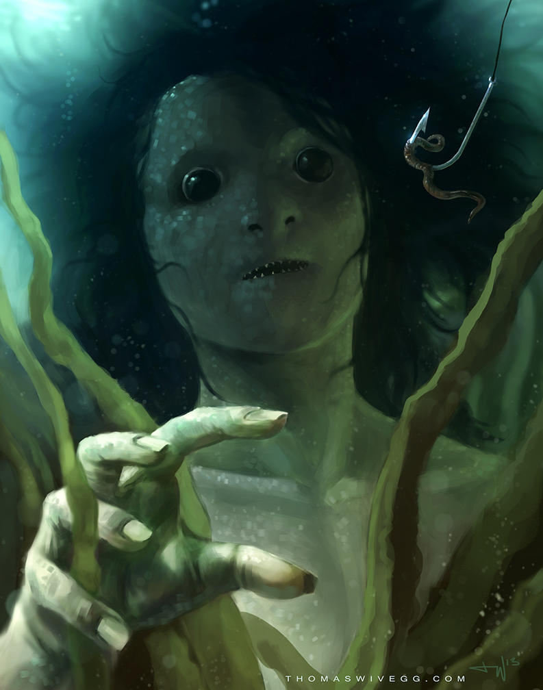 Mermaid by thomaswievegg