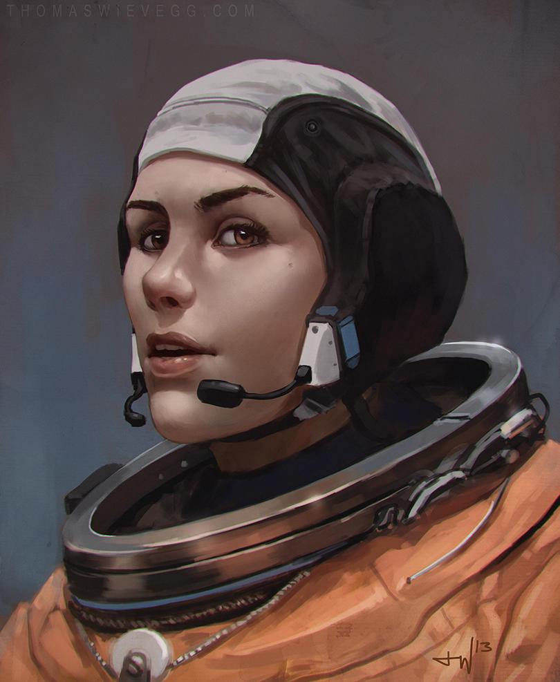 Astronaut by thomaswievegg