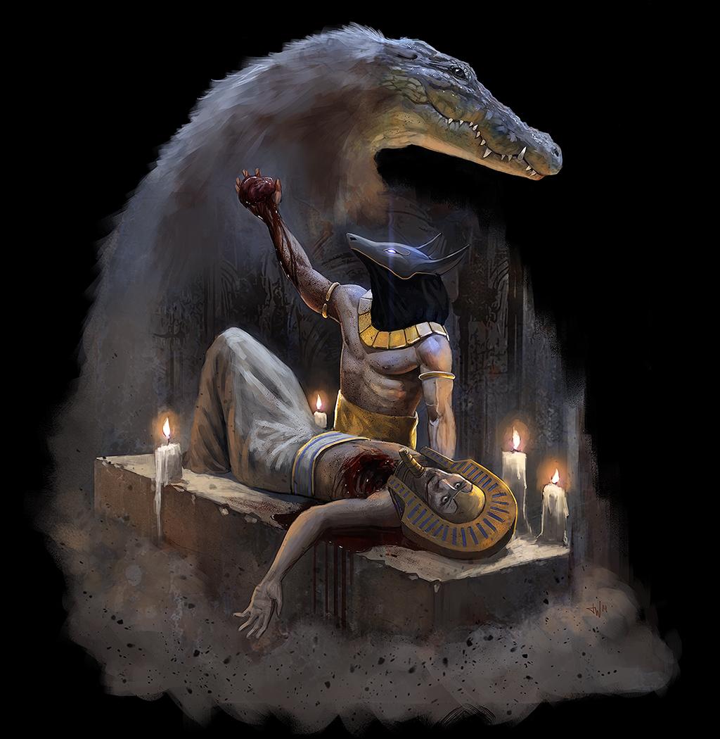 King of restless souls by thomaswievegg