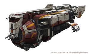 YV929 Armed Transport by thomaswievegg