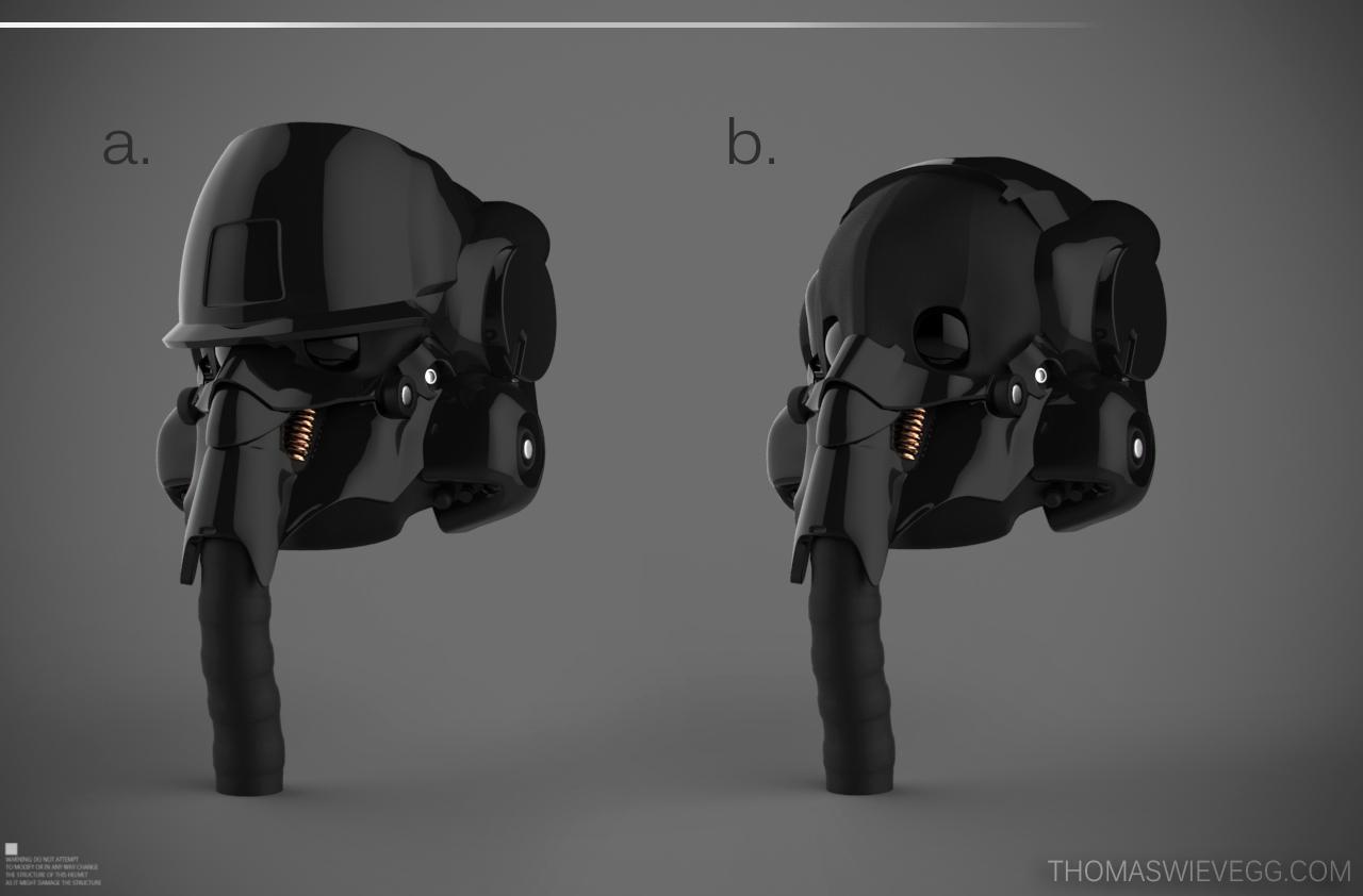 Futuristic Helmet Concept Art | helmet