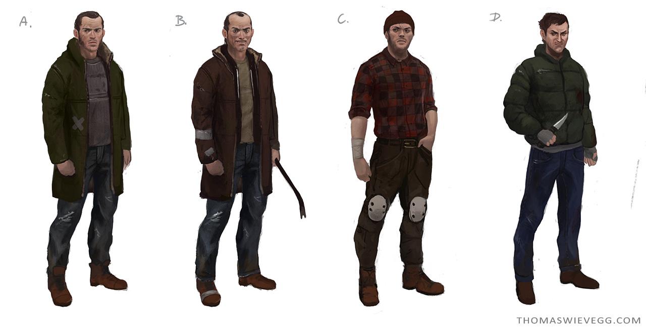 Bandits by thomaswievegg