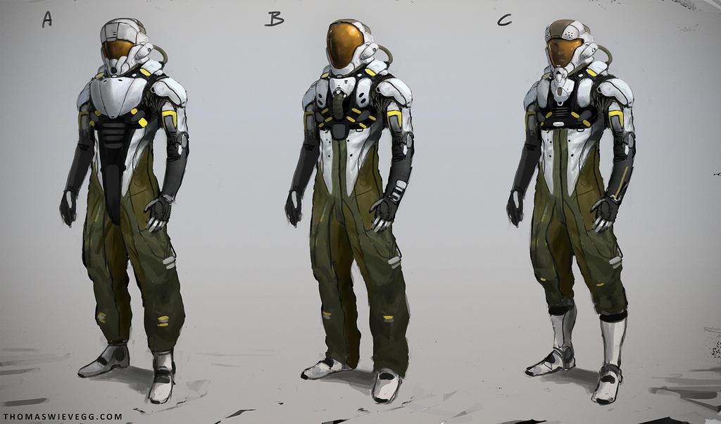 future space suits designs - photo #23
