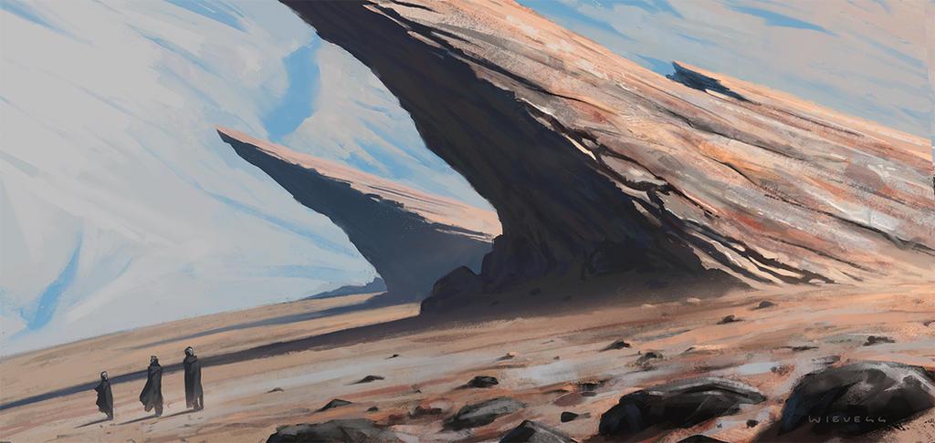 Sharp Rocks by thomaswievegg