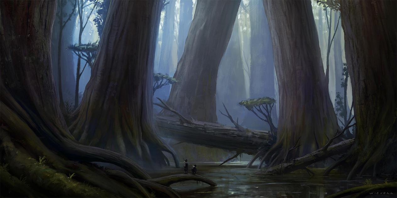 Giant Swamp by thomaswievegg
