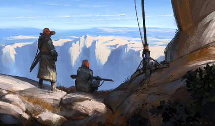 Outpost by thomaswievegg