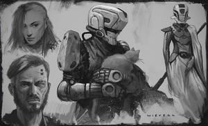 Random sketches 03