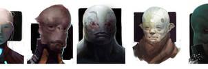 misc. scifi head doodle-farts