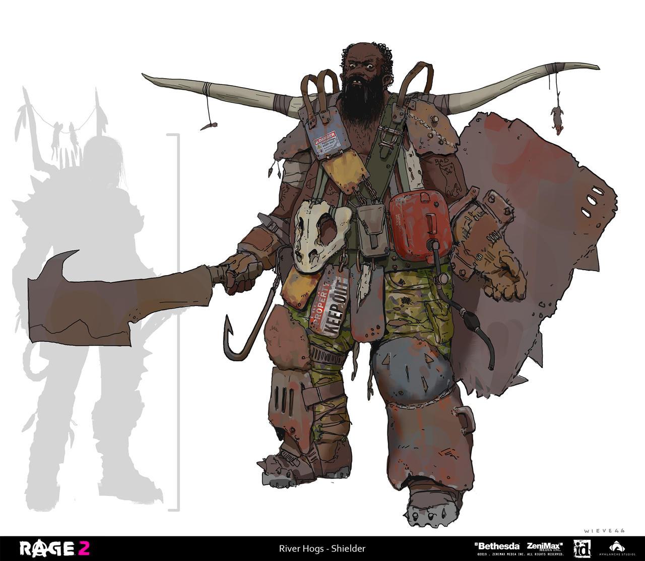 Rage 2 - River Hogs (Shielder)