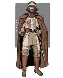 Star Wars inspired character sketch