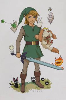 Zelda Ghibli Mashup