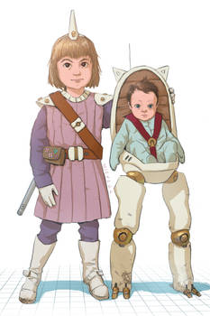 Alice and Nora