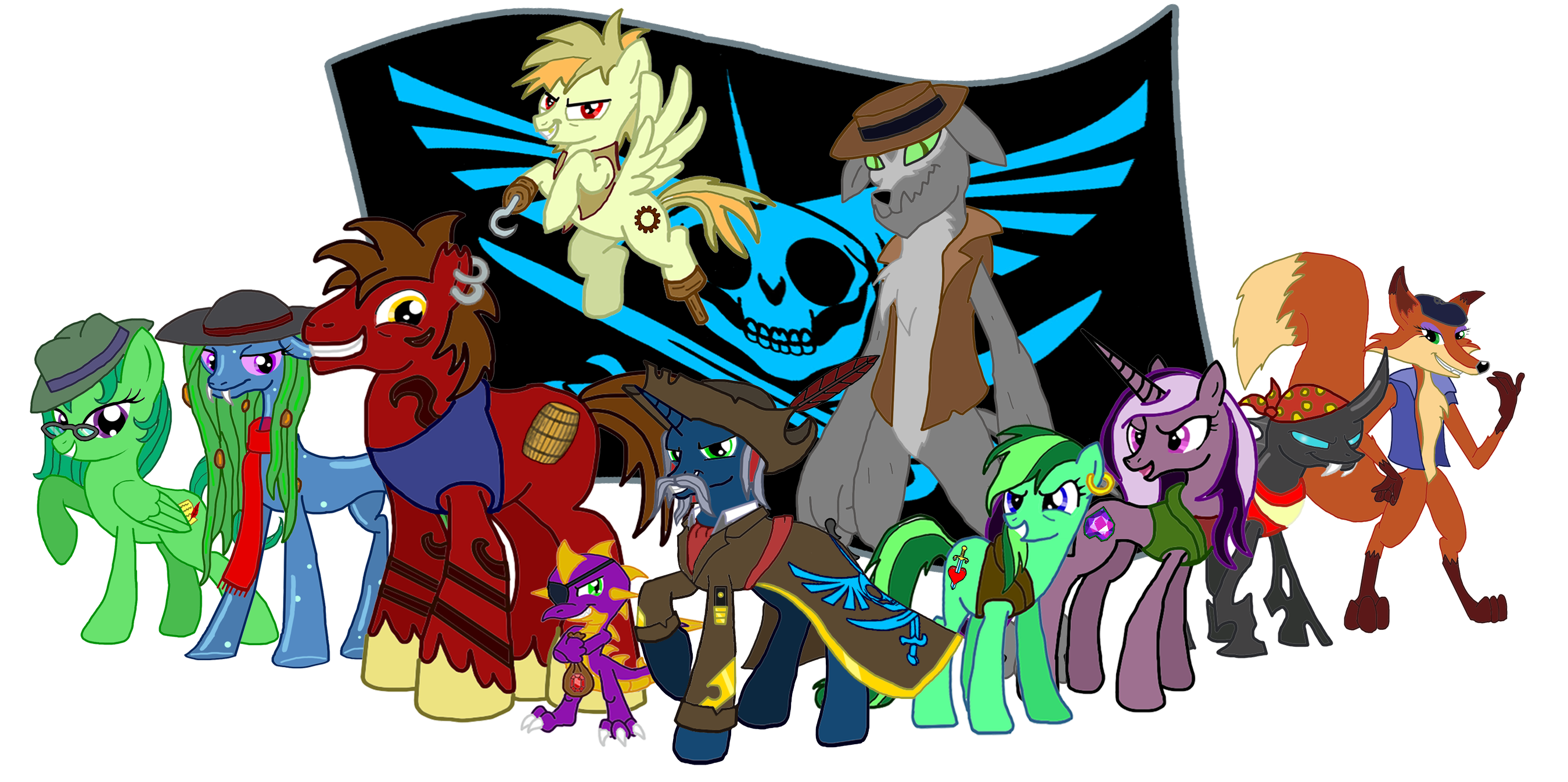 mlp pirates of the alicorn by moheart7 on deviantart