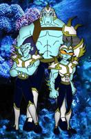 Liquidelle's Enforcers by Moheart7