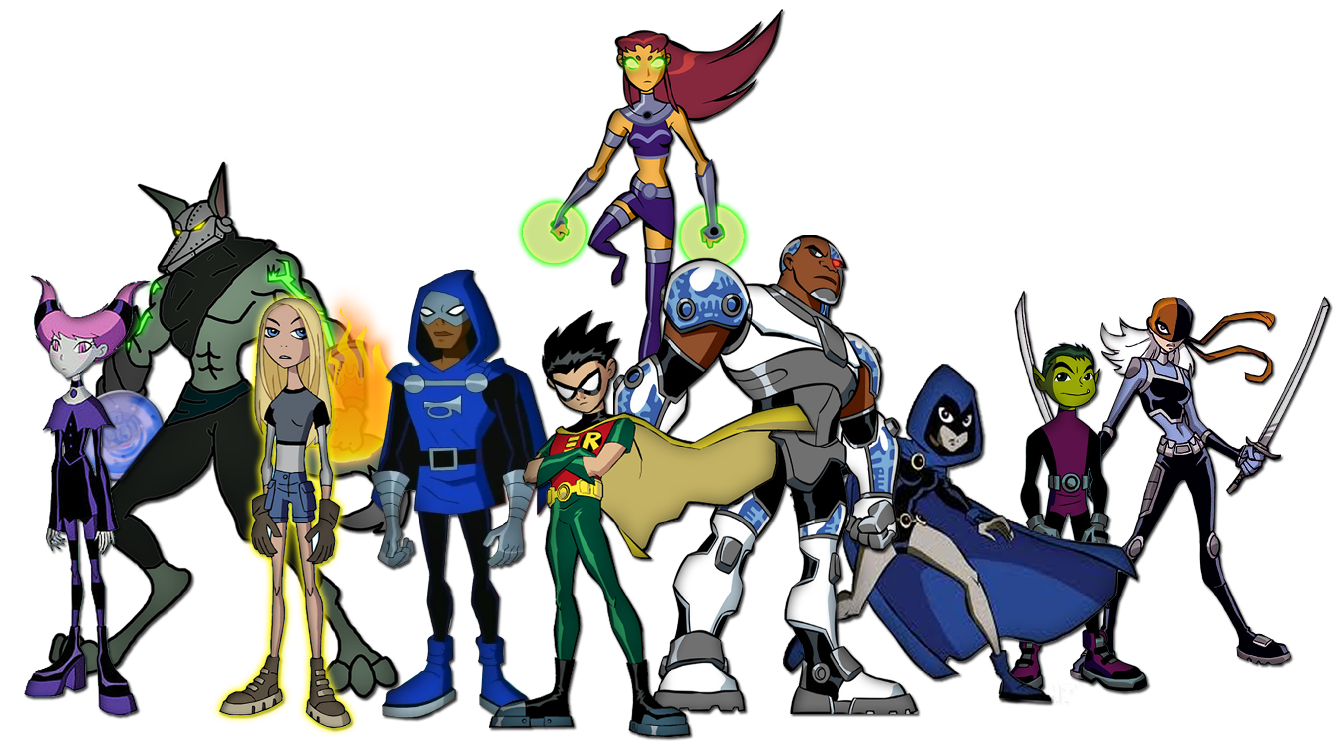 All Make The Teen Titans 63
