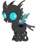 MLP - Firefly the Changeling Filly