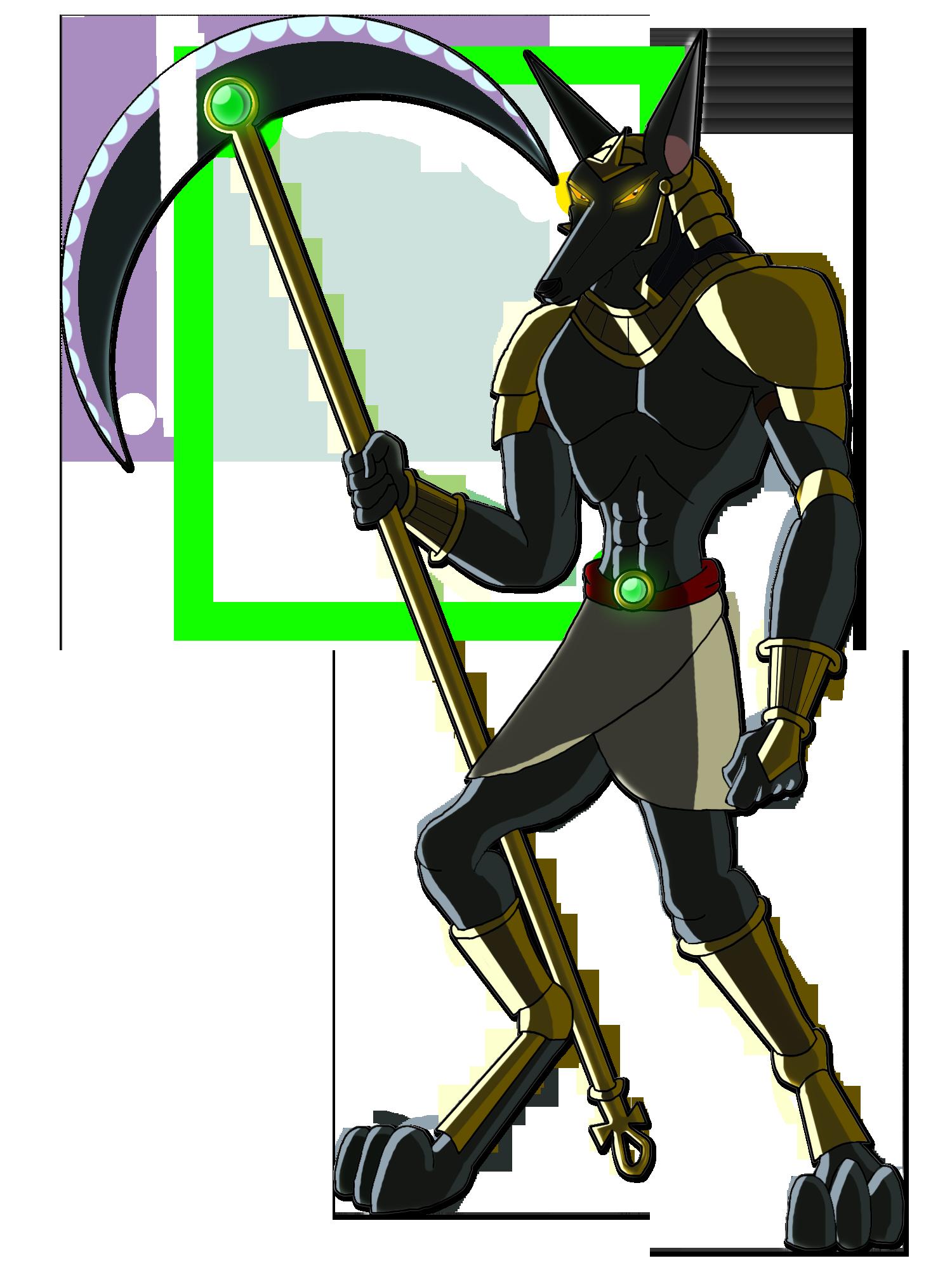 Egyptian Gods - Anubis by Moheart7 on DeviantArt