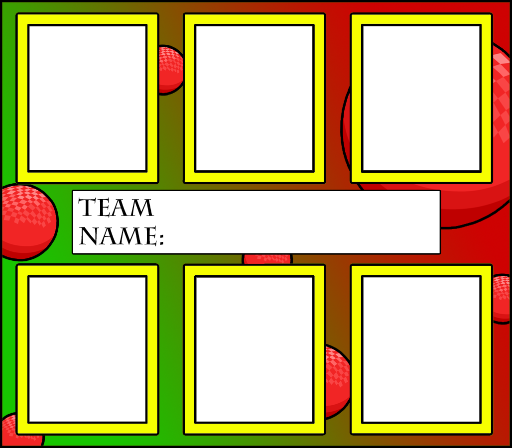 Dodgeball Team Meme  Template by Inkheart7 on DeviantArt