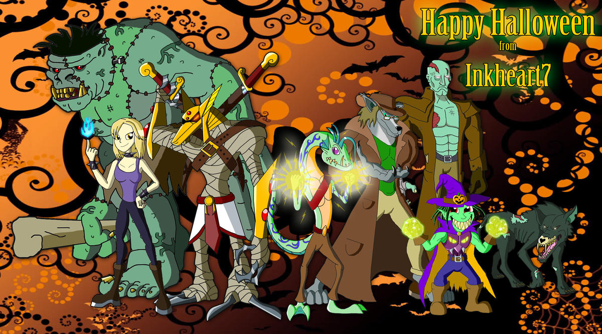 Happy Halloween from Inkheart7 by Inkheart7