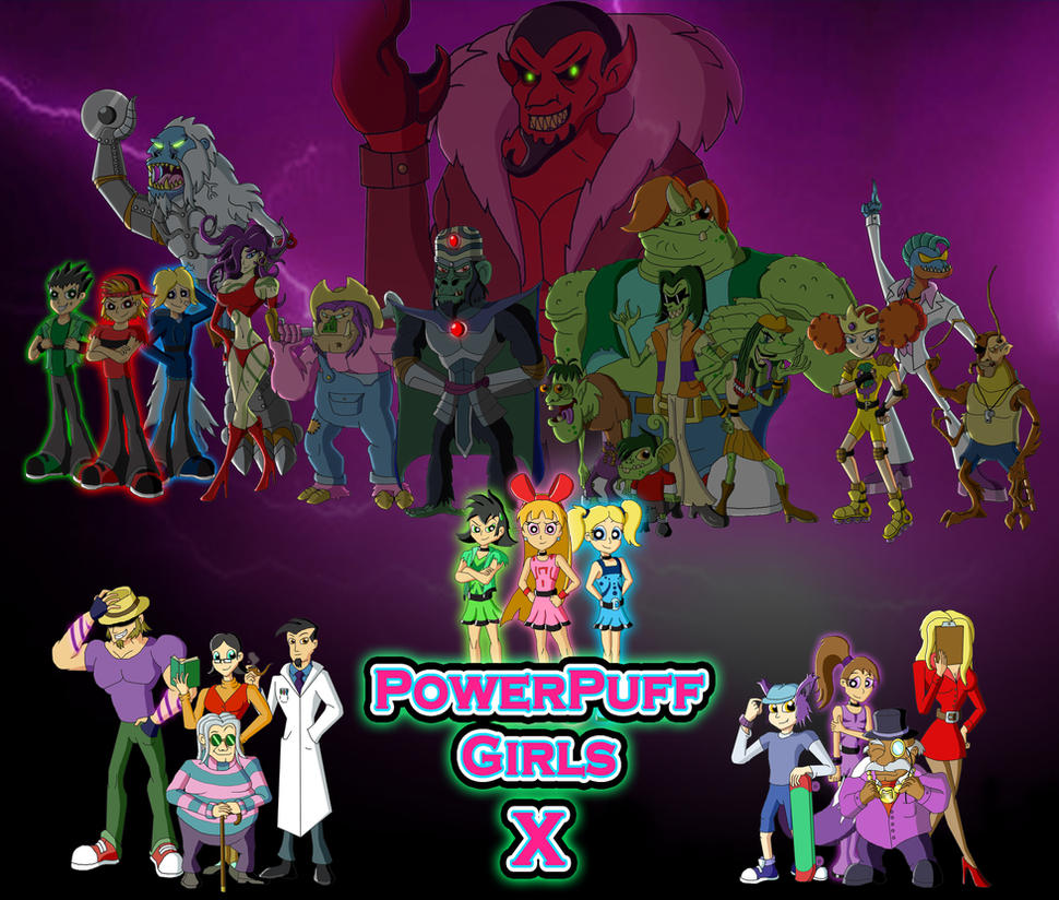 Powerpuff Girls Reboot By Moheart7 On Deviantart
