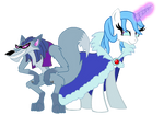 MLP OCs - Queen Icicle and Captain Tod