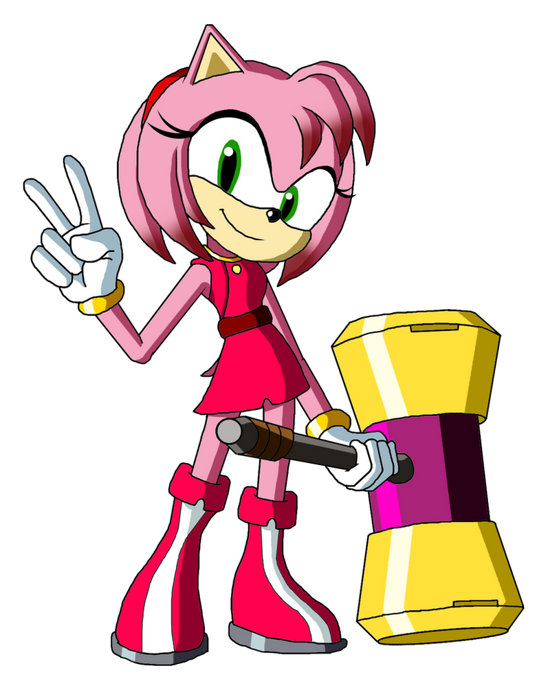 Sonic et amy porn