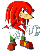 Sonic Reeboot (2016) - Knuckles the Echidna by Moheart7