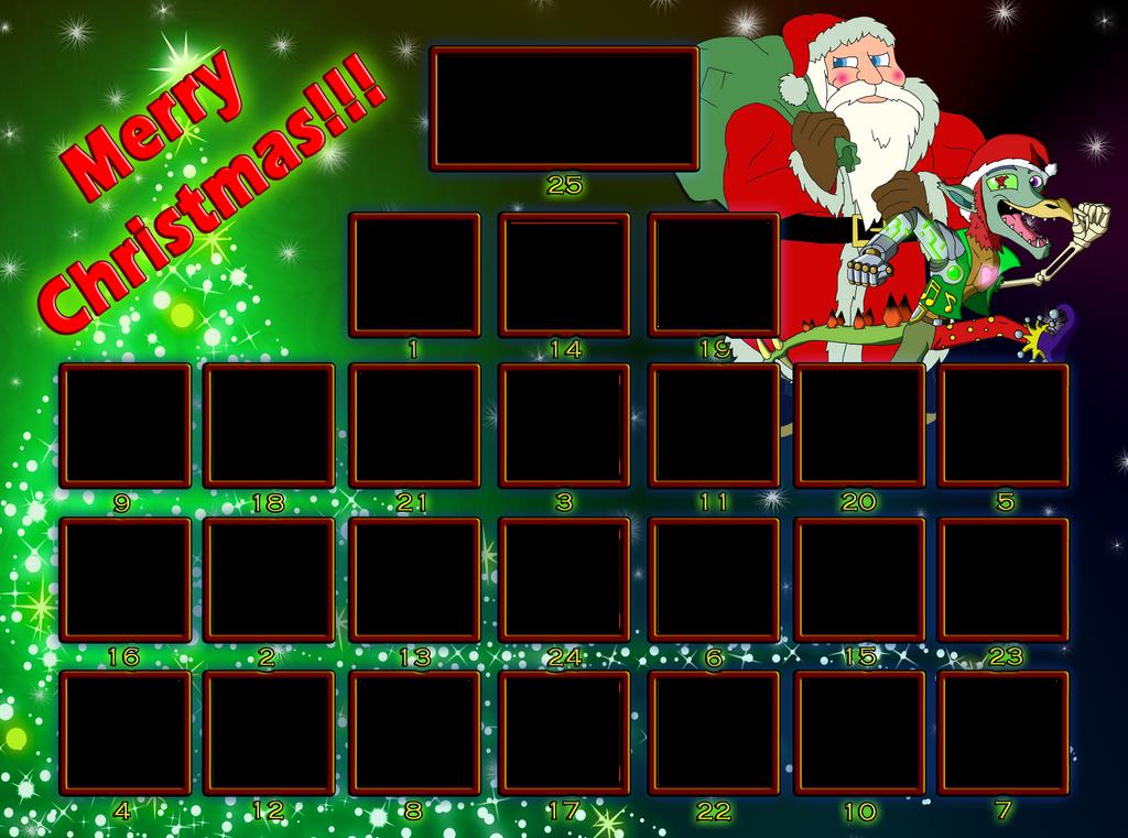 Christmas Advent Calendar Meme Template By Moheart7 On Deviantart