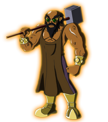 Character Reboot: The 12 Olympians - Hephaestus by Moheart7