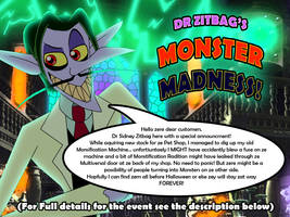 Dr Zitbag's Monster Madness  (EDITED)
