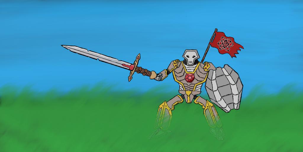 Battle Bot by uberartistman