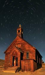 Bodie Church Star Trail