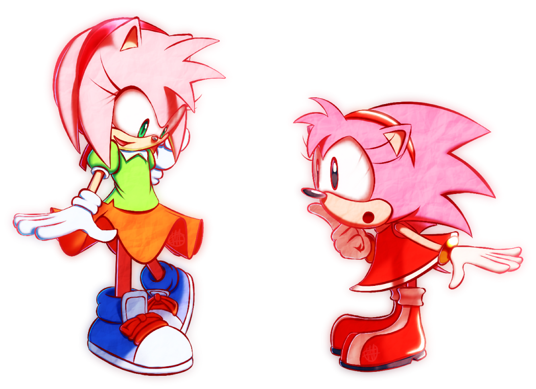 Amy Rose Outfit Swap By TheVoidful On DeviantArt