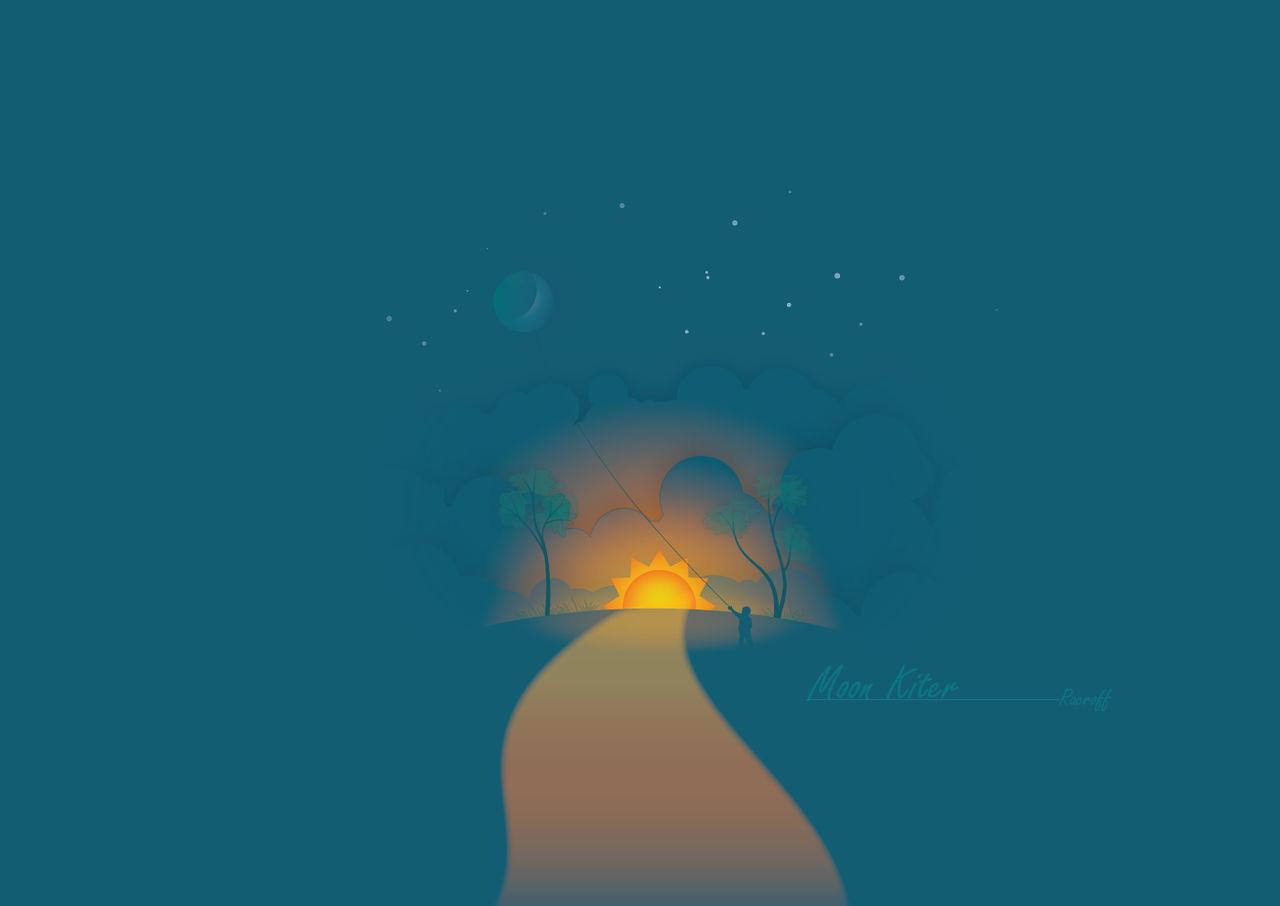Moon Kiter