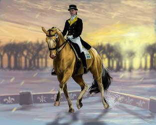 Dressage | Green Moorlands Stable Winter Show by DalRiataStables