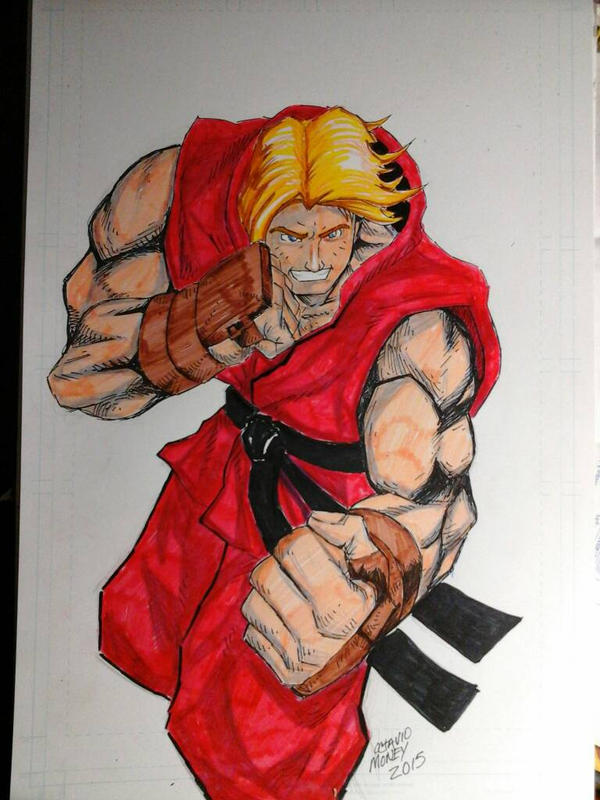 awesome KEN MASTERS by rustyjames690