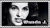 Wanda Jackson Stamp by TheFabySaturn