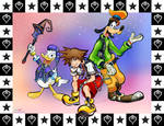 Goofballs - Kingdom Hearts by LogicalMarcochip