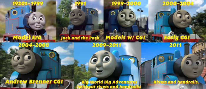 My Thomas Timeline (Onscreen Stories)