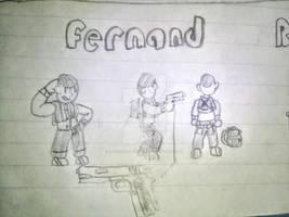 Metal Slug 8 Fernand