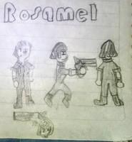 Metal Slug 8 Rosamel