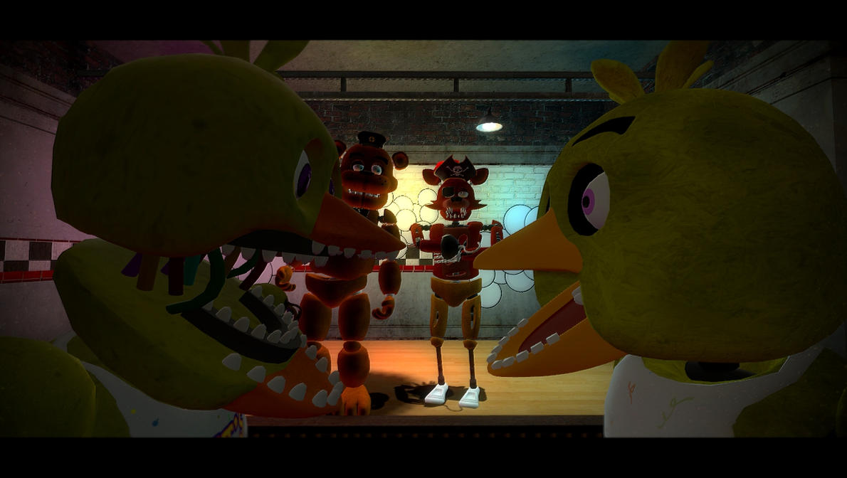 Old Withered Chica Gmod - 0425