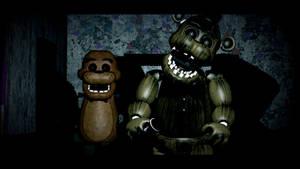 the ghost of freddy fazbear by crazybot1231
