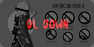 MMD+DL DOWN | Len ghoul edge x
