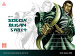 God of Sabre Wallpaper by valiantonov