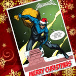 a nightwing little christmas