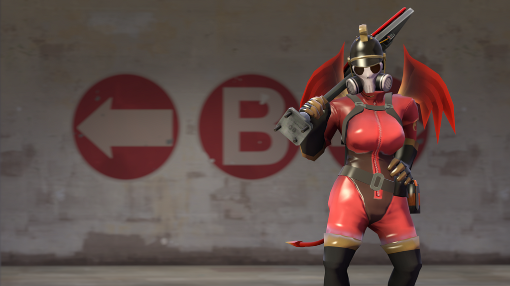 The female nazi pyro by spay1100 on deviantart - Tf2 logo wallpaper ...